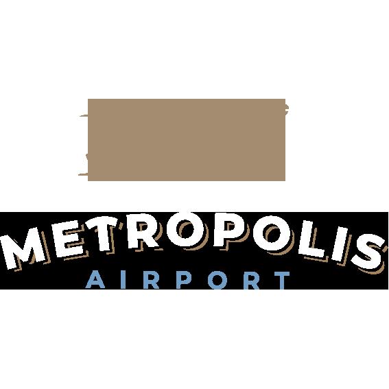 Metropolis Flughafentransfer Logo