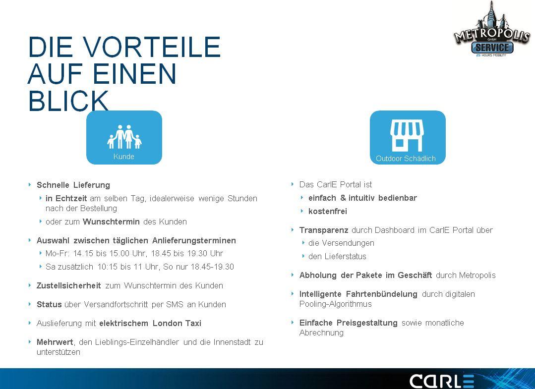 CarlE City Shopper Aschaffenburg Vorteile